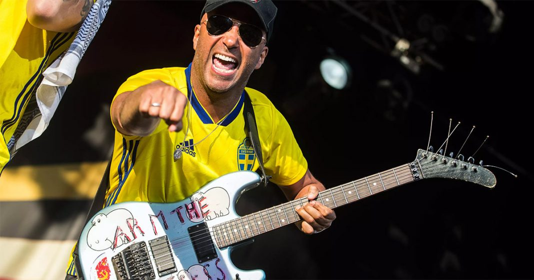 Tom Morello. Meet the best songs