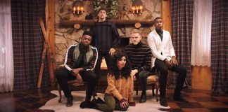 "Pentatonix released the disc ""Christmas Is Here!"""