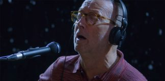 "Eric Clapton released the video ""For Love On Christmas Day"""