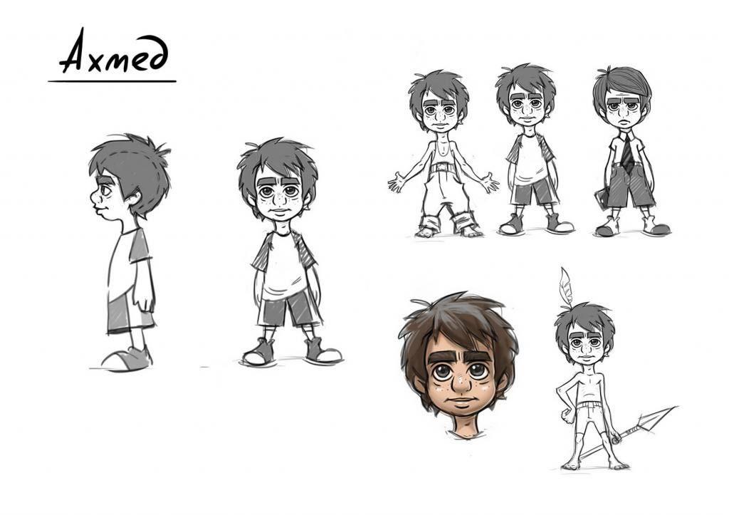 Главный герой мультсериала «Аул мастеров» Ахмед. Фото: https://capost.media