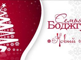 Встречаем Новый год вместе с семьей Боджгуа!