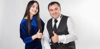 Ruslan Kaitmesov and Ainara Zhelkashiyeva presented the first duet