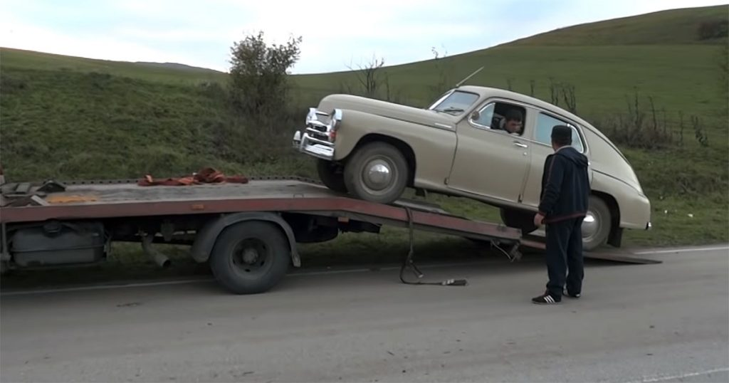 """During the filming of the video """"At the disco!"""" Car """"Victory"""" broke down three times"""