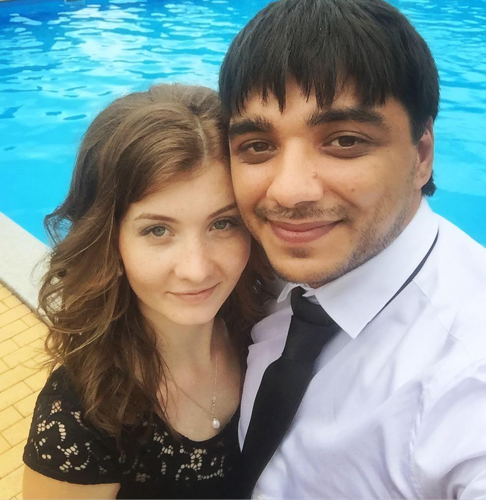 ЭGO с женой Юлией