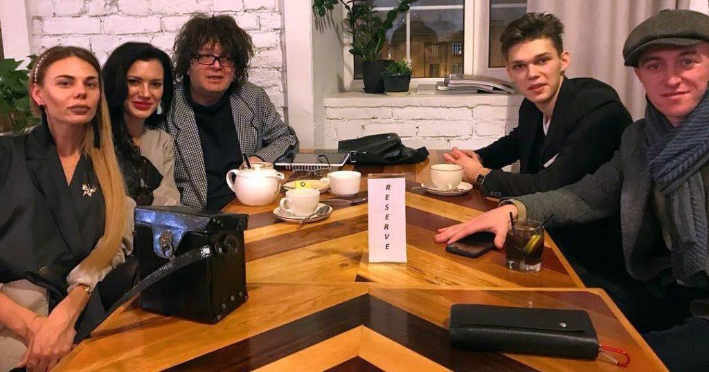 "Gosh Grachevsky with the creative team ""StreetFashionShow 2019"""