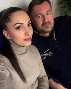 Илона Кесаева и Дмитрий Даньков в студии Дмитрия Маликова