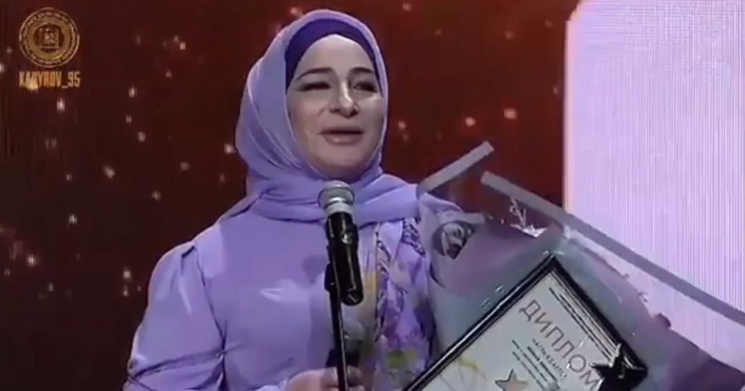 """Makka Mezhieva became the winner of the Music Award """"Song of the Year - 2018"""" in Grozny"""