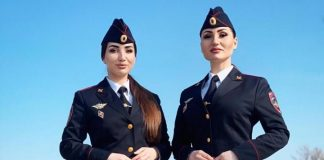 Albina and Fati Tsarikaevs took part in a festive concert dedicated to the Defender of the Fatherland Day