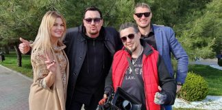 "Sergey Leshchev began shooting the video ""Forgive You"""
