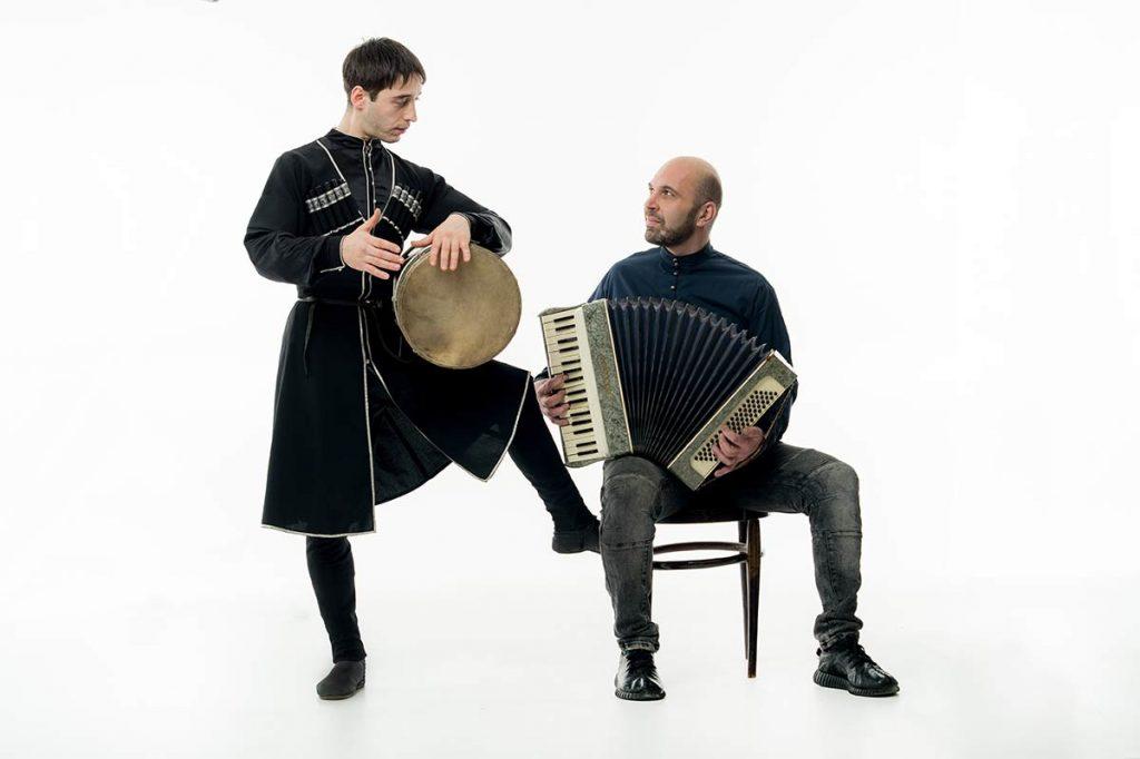 Группа «IsAria». Ахмат Кудаев и Марат Паритов