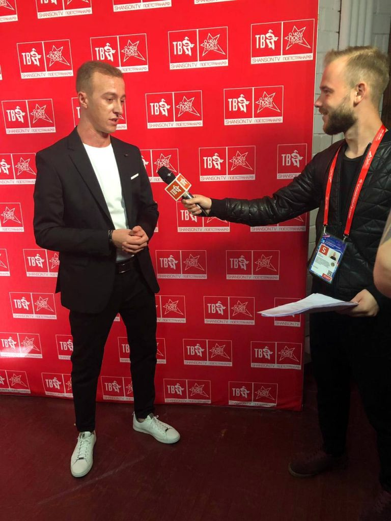 """Gosh Grachevsky: """"Thanks"""" Chanson TV """"for the recognition!"""" 