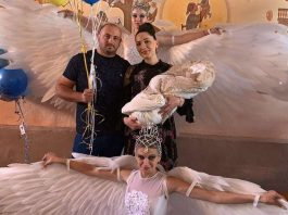 26 of September 2019 of the year in the family of the popular singer Ilona Kesaeva and her husband Marat, a son Alikhan was born