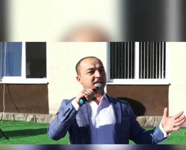 Кайсын Холамханов - Аланы  Открытие спорткомплекса