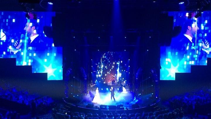 Прекрасный дуэт «Орыба» исполнили Азамат Биштов  и Фатима Дзибова  Презентация р...