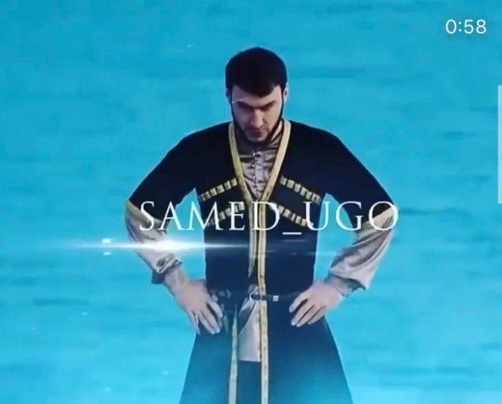 Прекрасный танец Самеда под песню Ислама  Трек - салам алейкум братьям        ...