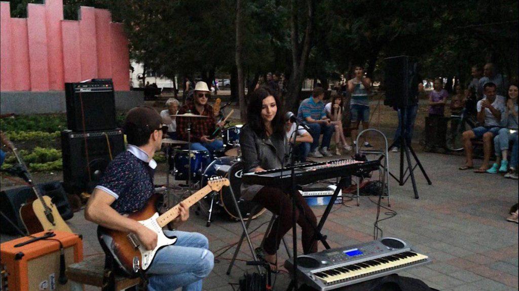 Выступление группы Алысын г. Черкесск