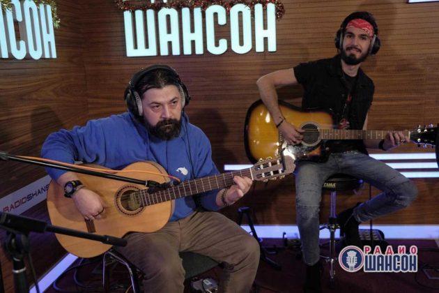 Роман Темиров и Тимур Китов на «Радио Шансон». Фото. Декабрь 2019 года