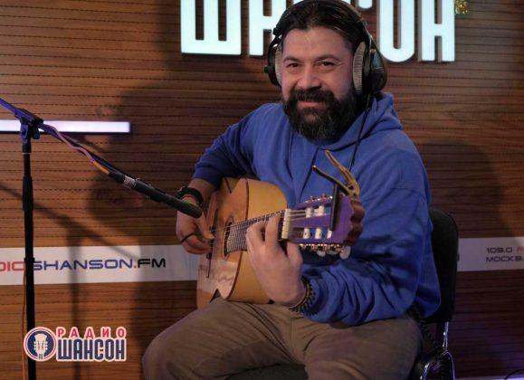 Тимур Китов на «Радио Шансон». Фото. Декабрь 2019 года