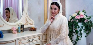 The wedding of Alika Bogatyreva and Albert Shamanov took place on January 30 in Cherkessk