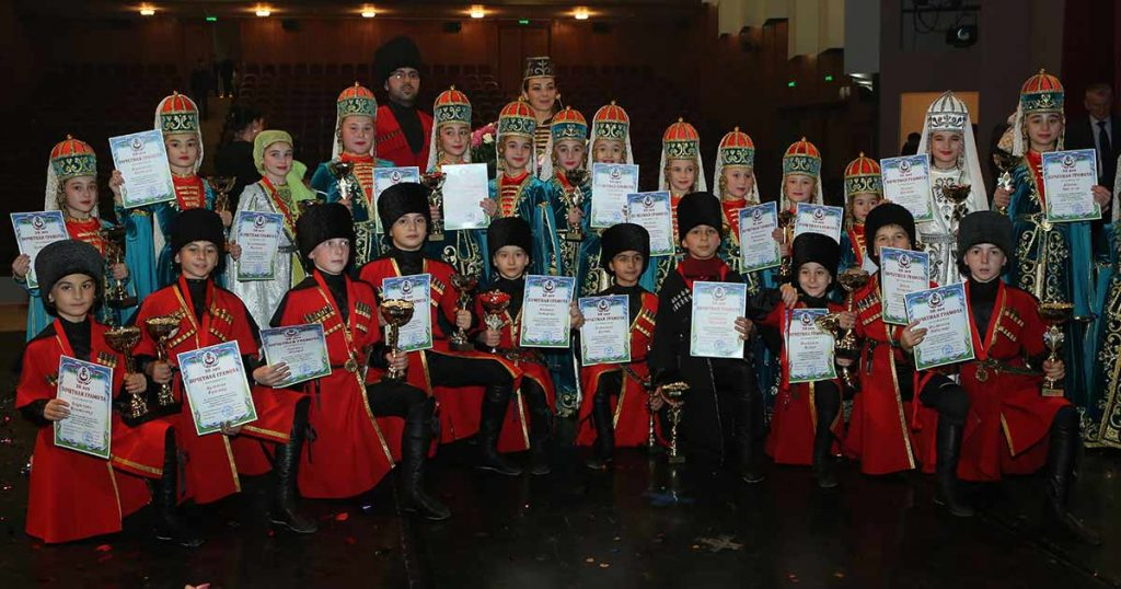 On November 8, 2018 in Nalchik, a concert of the Naltsuk Honored Folk Dance Ensemble of Russia was held
