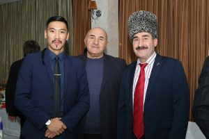 "After the concert of the ensemble ""Naltsuk"" in Nalchik"