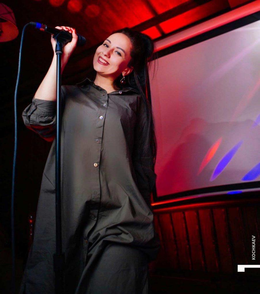 Певица Елена Бергер. Фото из официального аккаунта в Инстаграм