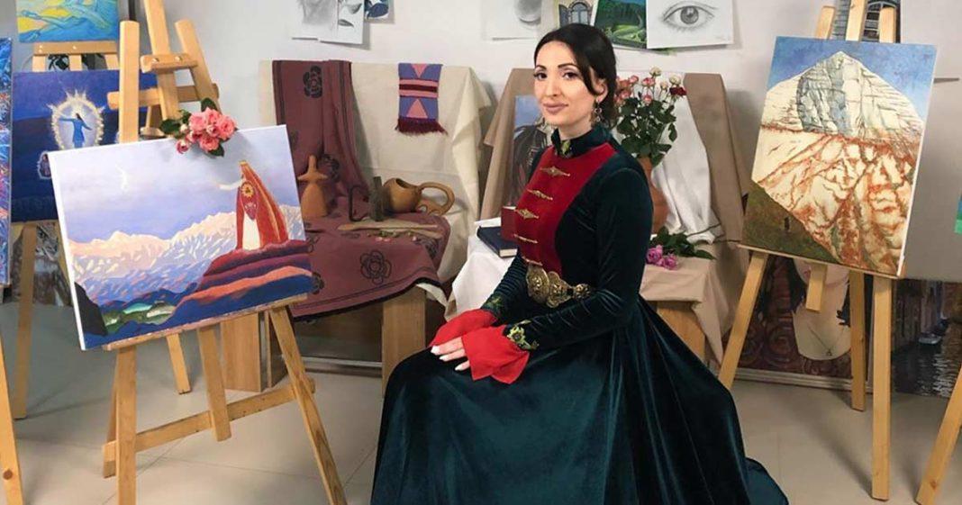 Илона Кесаева – участница Международного онлайн-фестиваля «Моя Родина»