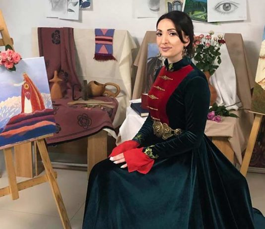 "Ilona Kesaeva - participant of the International online festival ""My Motherland"""