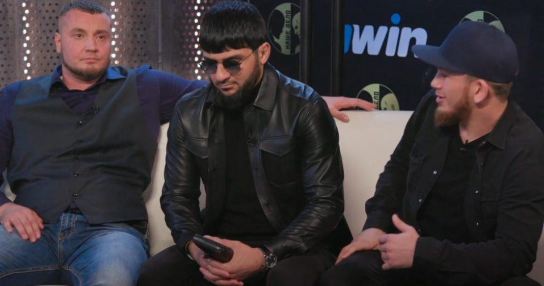 Ислам Итляшев и Эльдар Агачев в шоу «Наше Дело»