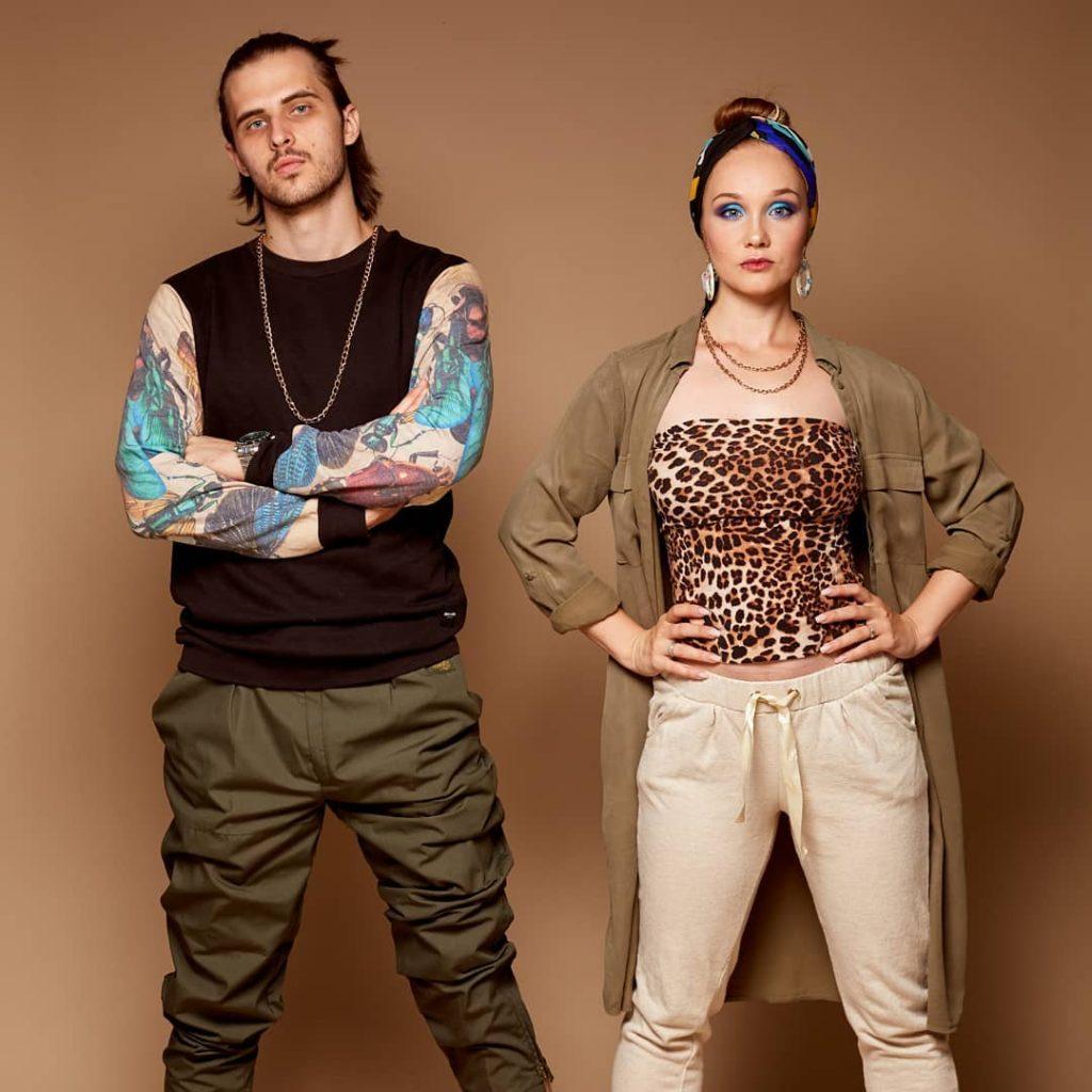 Дарина Лисовская и Stev Lisovsky