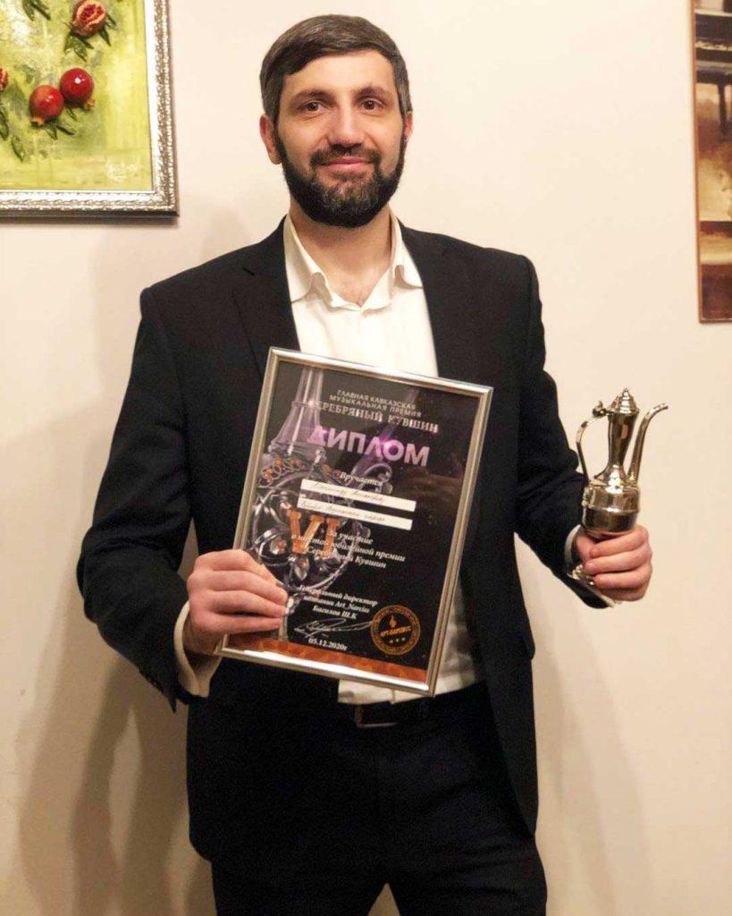 Магомед Аликперов был награжден в номинации «Фаворит народа».