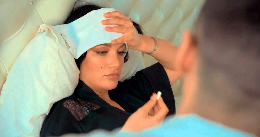 Кадр из видеоклипа Киры Шайн «Любовь на бис»