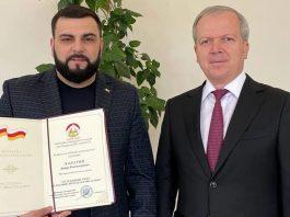 Указом главы Республики Северная Осетия-Алания Артуру Халатову присвоено звание «Заслуженный артист Республики Северная Осетия-Алания»
