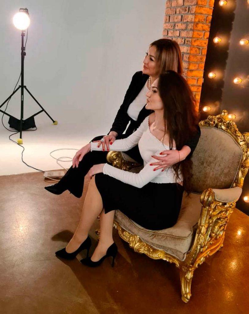 Адисса с Алиной Калоевой