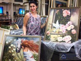 Где можно увидеть картины Анжелики Начесовой?