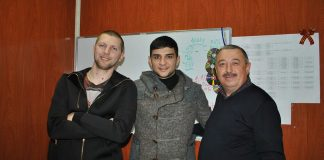 """Islam Itlyashev visited the office of the company """"Zvuk-M"""""""
