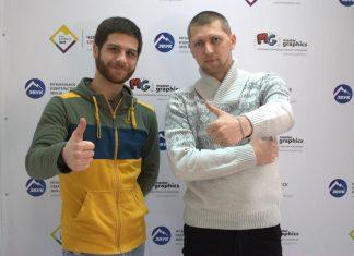 """Азнаур и Джанибек Рамазанов в гостях у """"Звук-М"""""""