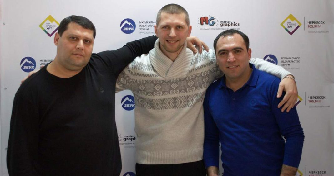 "Office of the company ""Sound-M"" visited Manvel Pashayan and Ernest Nersesyan"