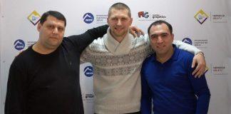 Офис компании «Звук-М» посетили Манвел Пашаян и Эрнест Нерсесян