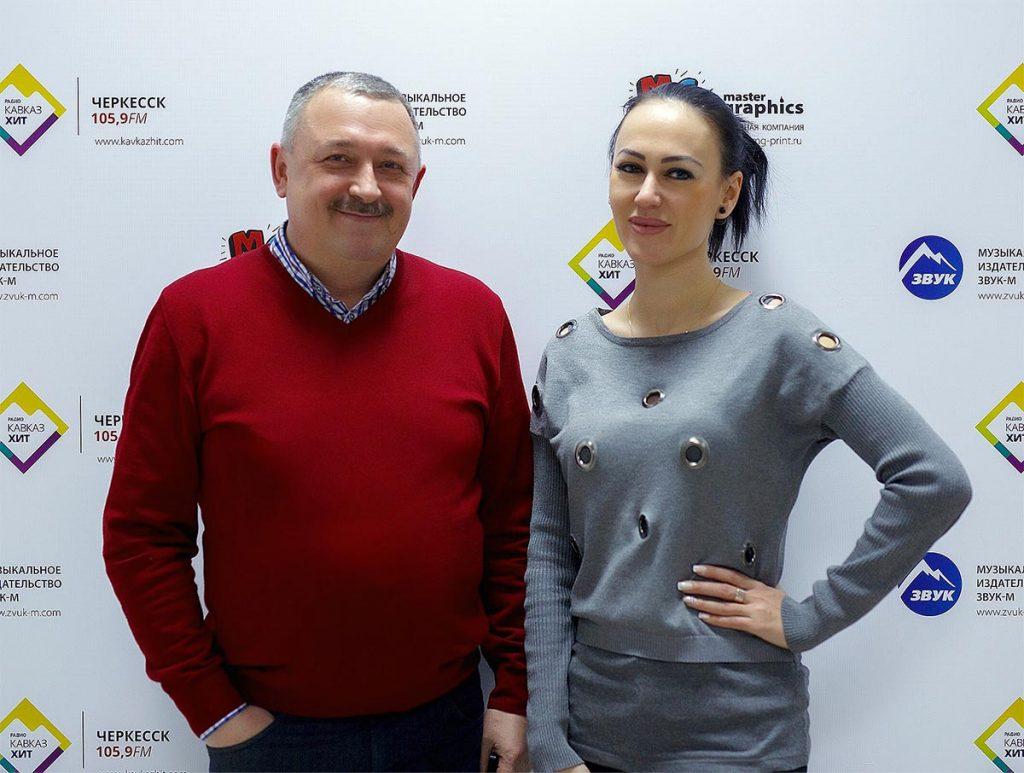 """Руслана Собиева в офисе издательства """"Звук-М"""""""