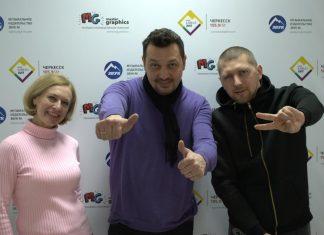 Офис «Звук-М» посетил популярный певец Сергей Лещев