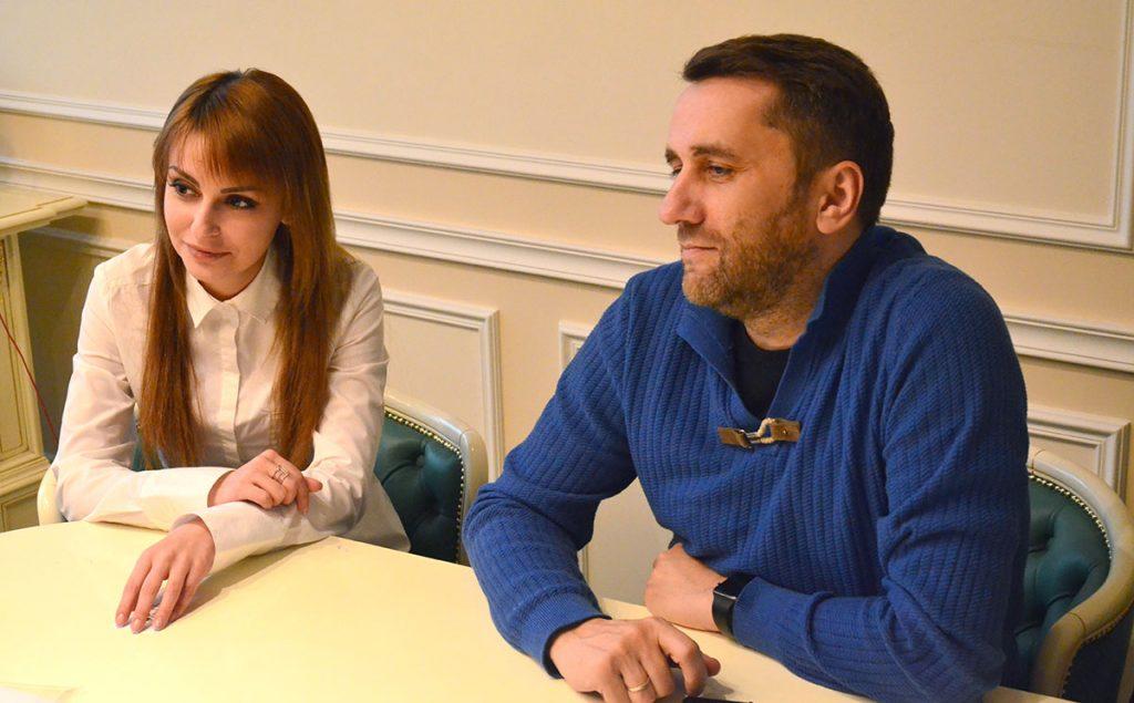 На фото: Алина Акбашева и Алексей Глазатов