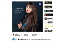 "Angelica Bekaldiyeva's song ""She hasn't fallen in love yet"" is already in ""Top 200 tracks of iTunes Russia""!"