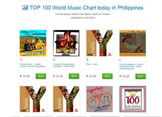 Трек «На дискотеку» уже на вершине списка чартов iTunes в Филиппинах!