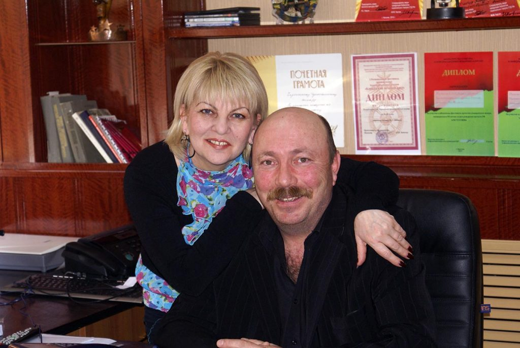 Arthur and Fatima Kidakoeva. More 35 years together