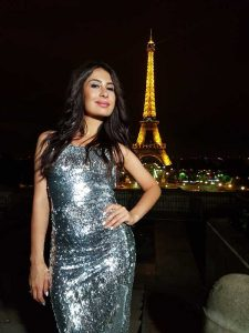 """Zarina Bugayeva: """"Shooting a clip in Paris against the background of the Eiffel Tower was my old dream!"""""""