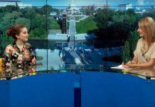 Алла Бойченко в эфире программы «Доброе утро» на «Архыз 24»