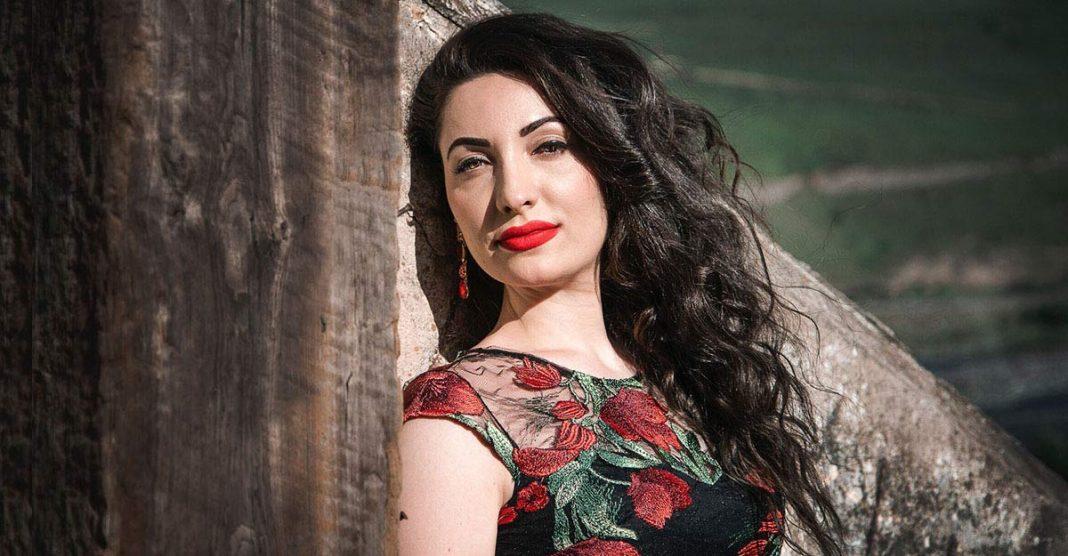 "Ilona Kesaeva at the III International Festival-Competition ""Russian Song"""