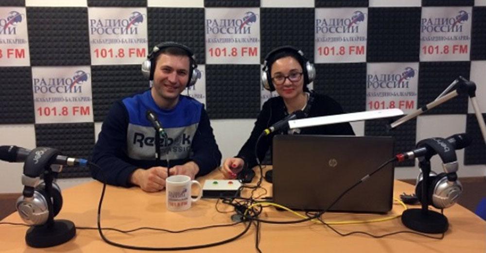 Azamat Bekov became the hero of the Hot Midday radio program