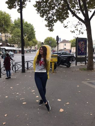 Зарина Бугаева о своей любви к Парижу…